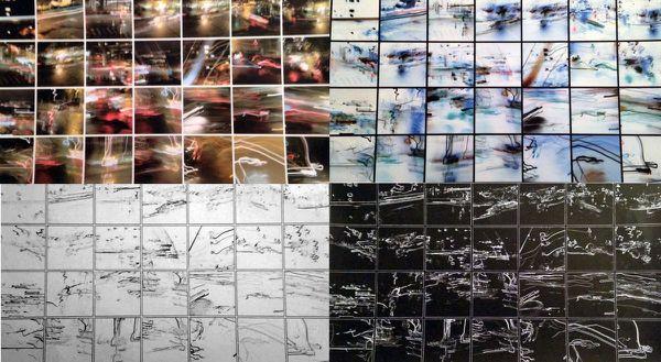 Effervescence (photomontage constitué de 4 planches de format A4)