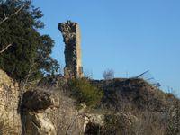 Le château vu du plateau