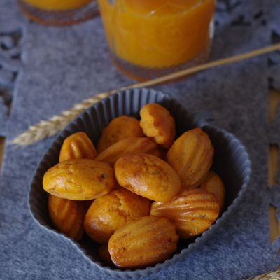 Minis madeleines mexicaines
