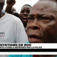 RD Congo : les manifestants contre Kabila dispersés par la police et les gaz lacrymogènes