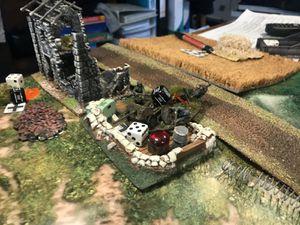 La résistance allemande est veine, il n'y a plus personne dans les bunkers ! Il ont été nettoyé !