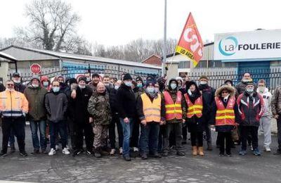 Pour les ouvriers de La Foulerie ; des avancées certaines au sortir de la grève