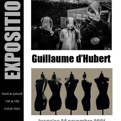 Alain Caille inviteGuillaume d'Hubertà la Galerie de l'Atelier d'Encadrement de Bailleul