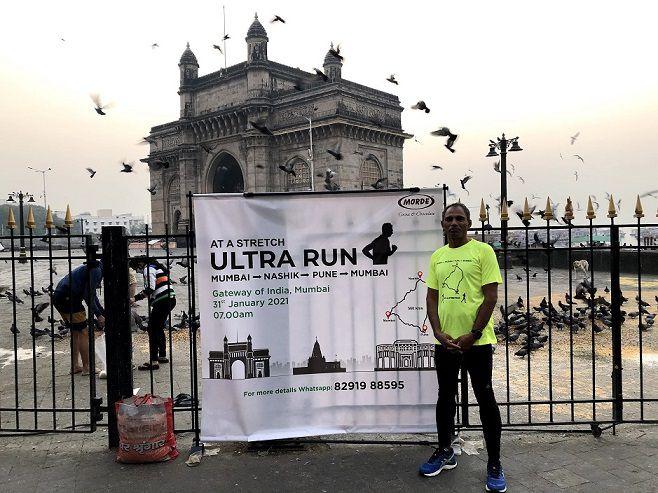 Arun Bhardwaj becomes the first Indian Ultra-Marathon Runner to complete the Mumbai-Nashik-Pune-Mumbai run