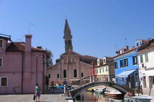 Venise, île de Burano.