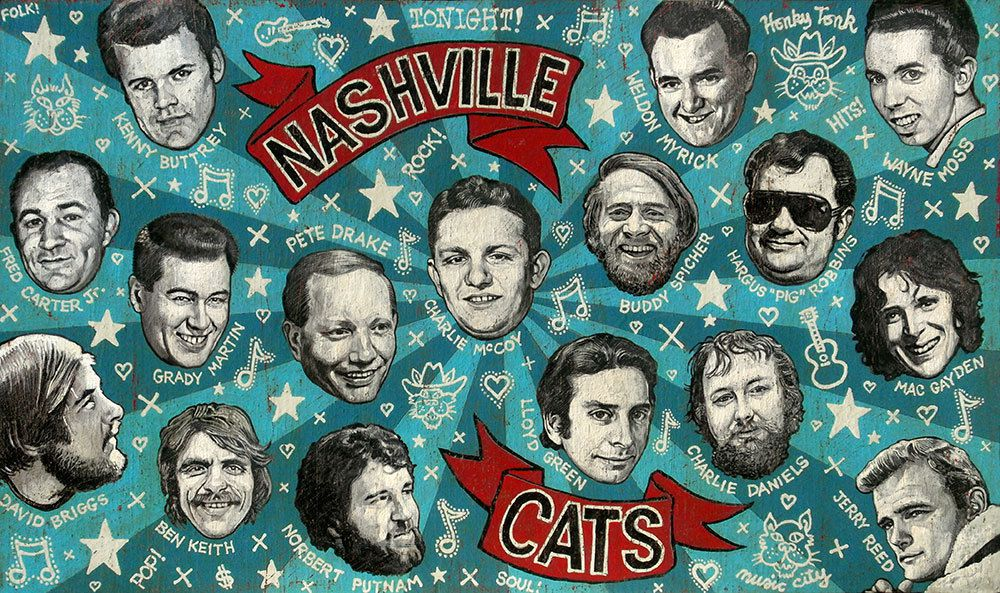 """Dylan, Cash and the Nashville Cats: a new Music City"" esplora con 35 tracce le relazionI tra pop, folk e country nel loro punto di incontro focale a Nashville"