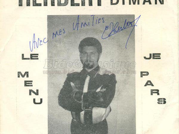 """Herbert diman, un artiste belge né à Charleroi auteur des hits """"ma jolie poupée"""" et """"on se dit bonjour"""""""