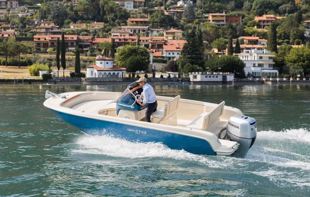 6.1 meters long and 16 000 euros for the new Invictus 200FX
