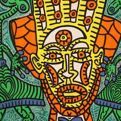 Exposition  Peinture Contemporaine: Robert COMBAS «Plein la Tête»