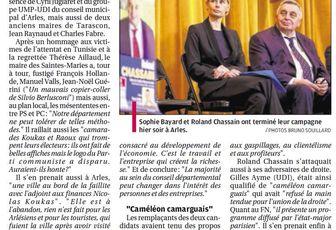 """Sophie BAYARD et Roland CHASSAIN: """"notre département ne peut tolérer de telles méthodes"""""""