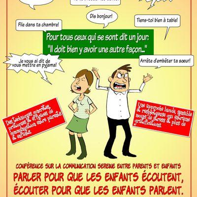 Conférence sur la communication parents /enfants