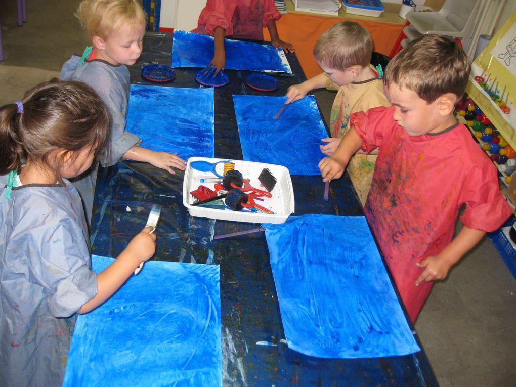Peinture à la main en MS