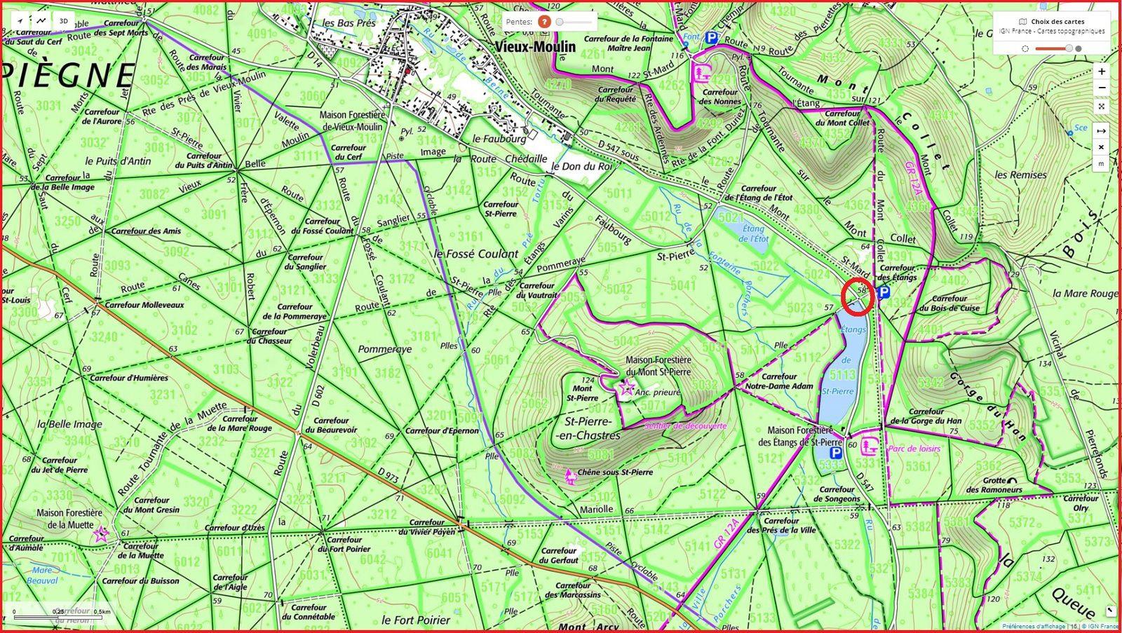 carrefour_Route des Etangs Saint-Pierre_D547 (étangs de Saint-Pierre)