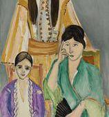 Barnes Collection Online - Henri Matisse: Three Sisters with Grey Background (Les Trois soeurs sur fond gris)