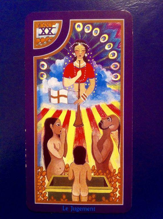 TAROT INITIATIQUE - Le Soleil   Arcane -XX - Resch.