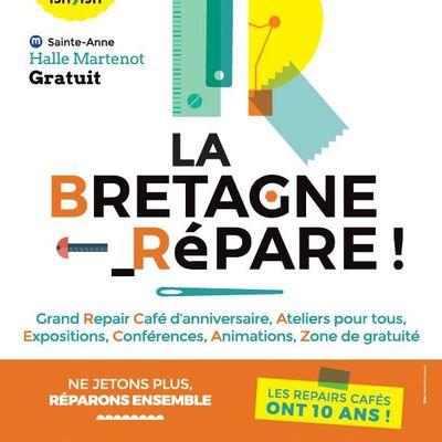 Une journée entière dédiée à la réparation et au réemploi à Rennes le 27 novembre prochain