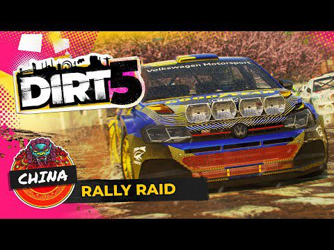 [ACTUALITE] Dirt 5 - Un nouveau trailer de gameplay consacré au mode Rally Raid en Chine