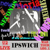 U2 -War Tour -15/03/1983 -Ipswich Angleterre - Gaumont Theater - U2 BLOG