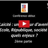 Laïcité : une valeur d'avenir. Conférence-débat avec André Bellon et Eddy Khaldi