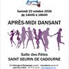 APRES-MIDI DANSANT à SAINT SEURIN DE CADOURNE