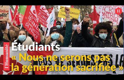 À Paris, les étudiants se mobilisent pour l'ouverture du RSA aux moins de 25 ans