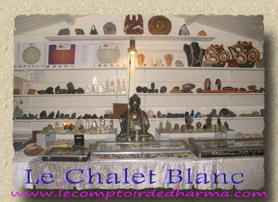 Le Chalet Blanc la boutique du Comptoir de Dharma à Narbonne