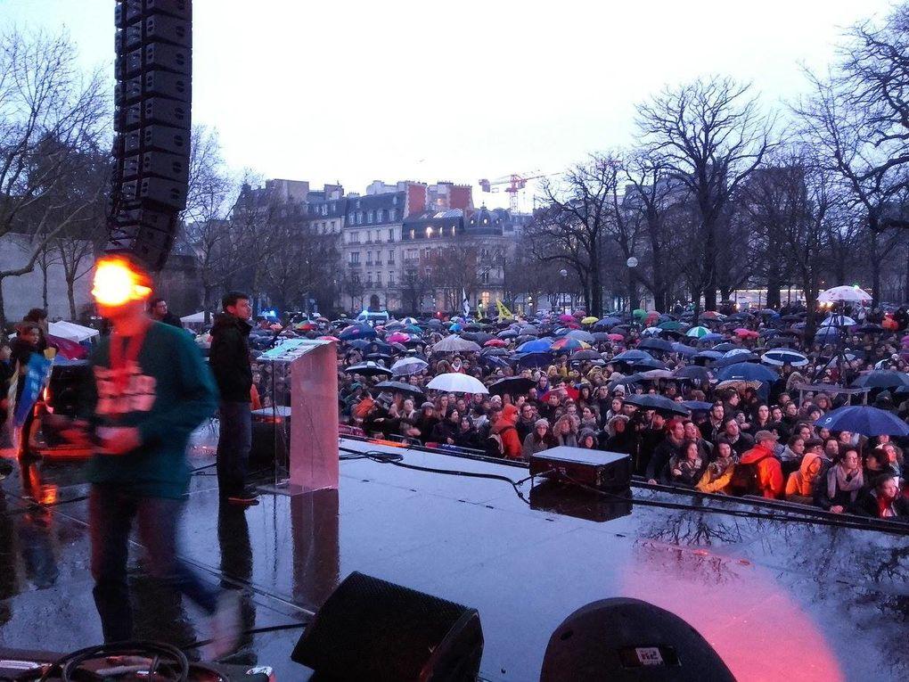 Le Parti de la France a participé à la Marche pour la Vie du 21 janvier 2018