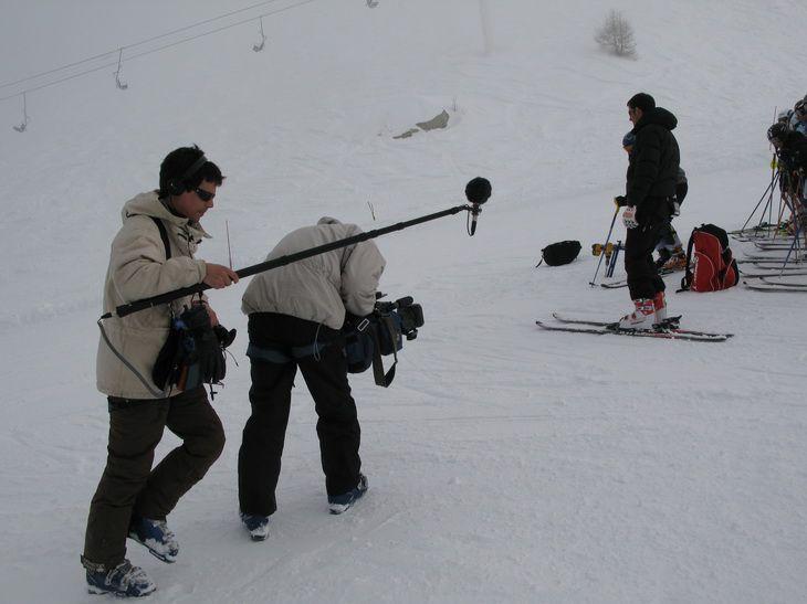 les images du tournage pour TF1