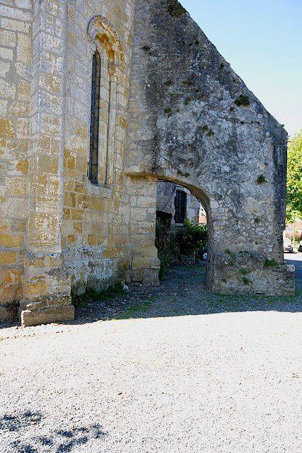 Diaporama église fortifiée de Saubusse