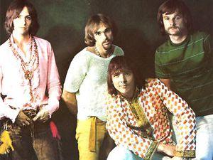 iron butterfly, un groupe de rock psychédélique américain des années 1960 sur la côte-ouest des états-unis