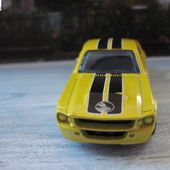67 FORD SHELBY GT-500 1967 MODEL 2008 HOT WHEELS 1/64 - car-collector.net