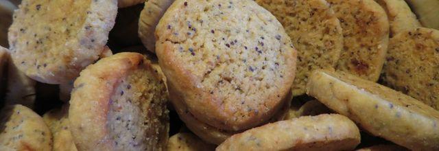 Biscuits au pavot et au citron