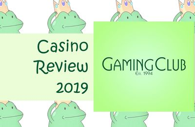 Gaming Club Online Casino Review [2019]