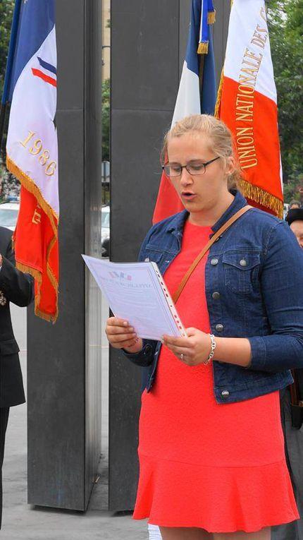 Diaporama de la cérémonie du 18 juin de l'UGF à Paris