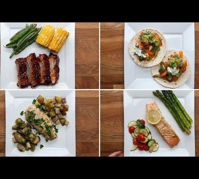 4 Simple One-Pan Dinners