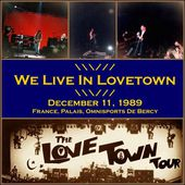 U2 -Lovetown Tour -11/12/1989 -Paris France Palais Omnisports De Paris Bercy - U2 BLOG