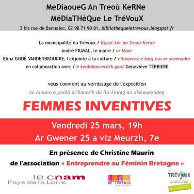 Vernissage Femmes inventives