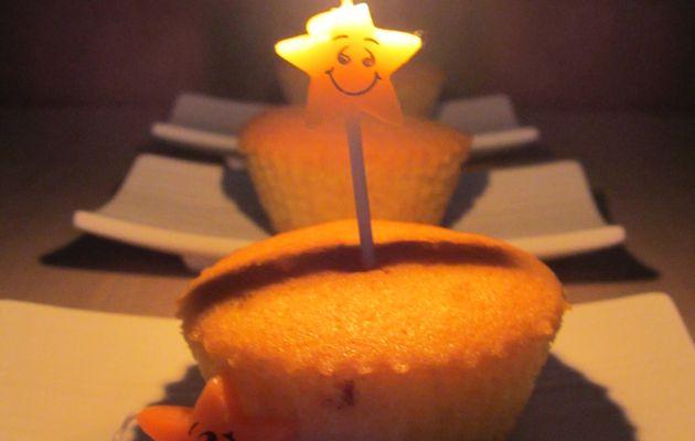 Cupcakes à la vanille coeur craquant