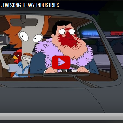 American Dad! [S13E15] : Daesong Heavy Industries