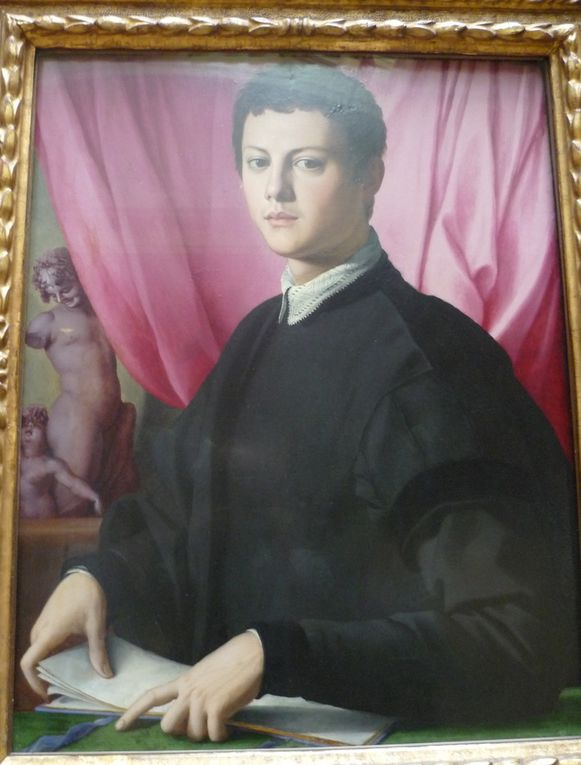 Bronzino, Portrait of a Young Man, probably 1550-55
