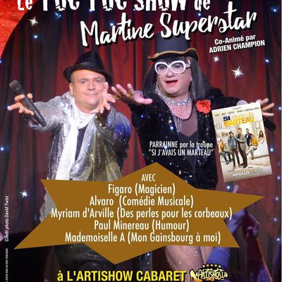 LE TOC-TOC SHOW DE MARTINE SUPERSTAR REPREND