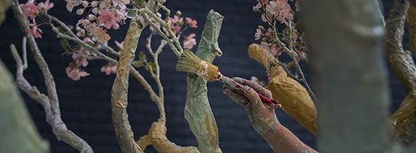 Uitmarkt: Van Gogh Museum presents life-sized interactive 3D reproduction of world-famous 'Almond Blossom'