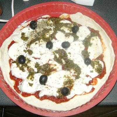 Pizza Margharita à ma façon