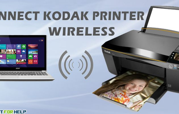 Get to Know How to Connect Kodak Printer Wirelessly