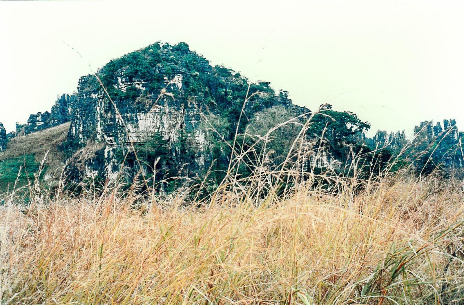Les mêmes paysages à la saison sèche.