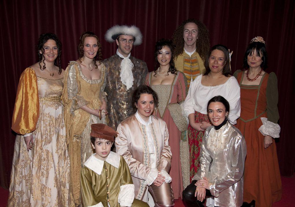 Les photos du spectacle 2010 à la salle des fêtes du Bourget