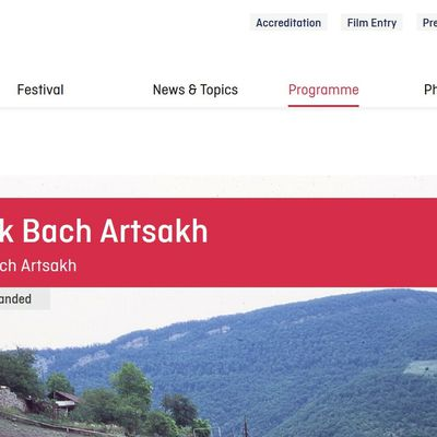Malgré les pressions, la Berlinale maintient la projection du documentaire Black Bach Artsakh