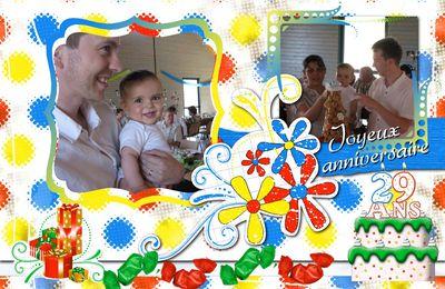 Bon anniversaire Cédric