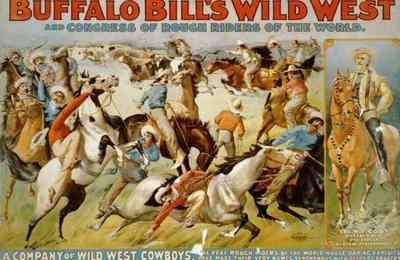 L'incroyable troupe de Buffalo Bill à Moulins en 1905