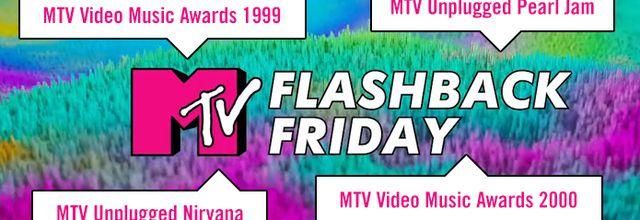 """Journée spéciale """"MTV Flashback Friday"""" dès 8H ce vendredi"""